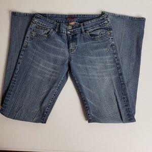 Jessica Simpson Boot Cut Light Wash Denim Jeans